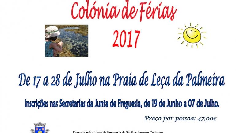 Colónia de Férias 2017