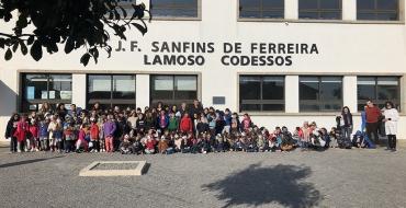 Visita Centro Escolar de Sanfins